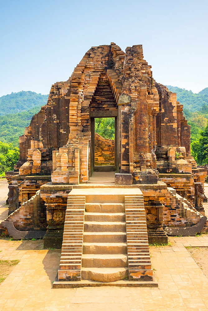 My Son ruins, Cham temple site, UNESCO World Heritage Site, Duy Xuyen District, Quang Nam Province, Vietnam, Indochina, Southeast Asia, Asia