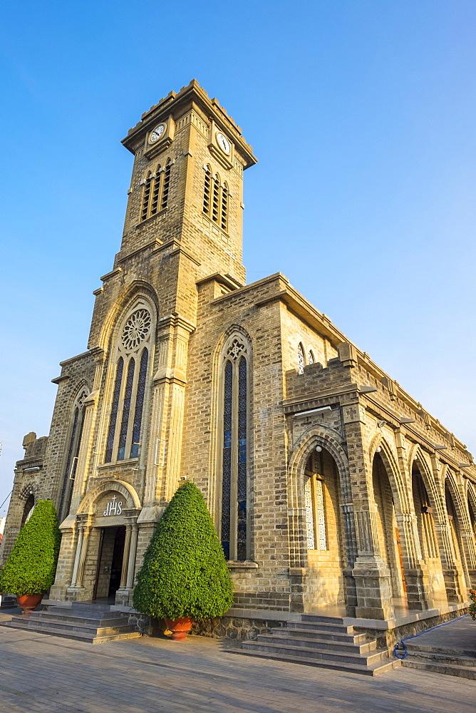 Nha Trang Cathedral, Nha Trang, Khanh Hoa Province, Vietnam, Indochina, Southeast Asia, Asia