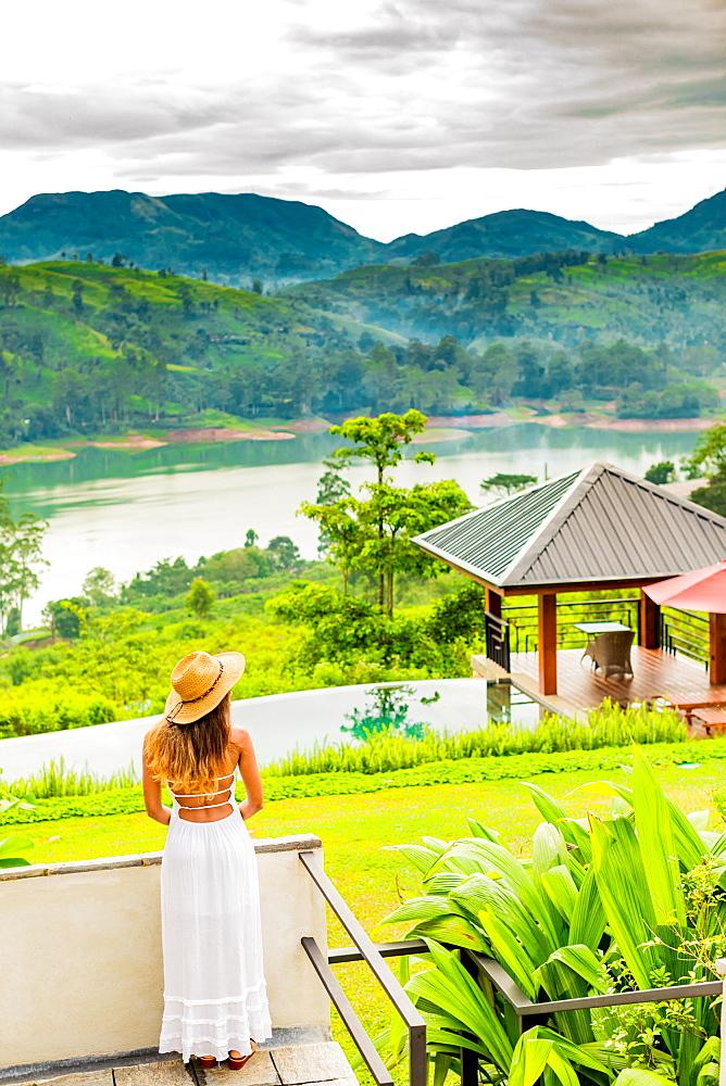 Scenic of the tea country in Sri Lanka, Asia - 1218-646
