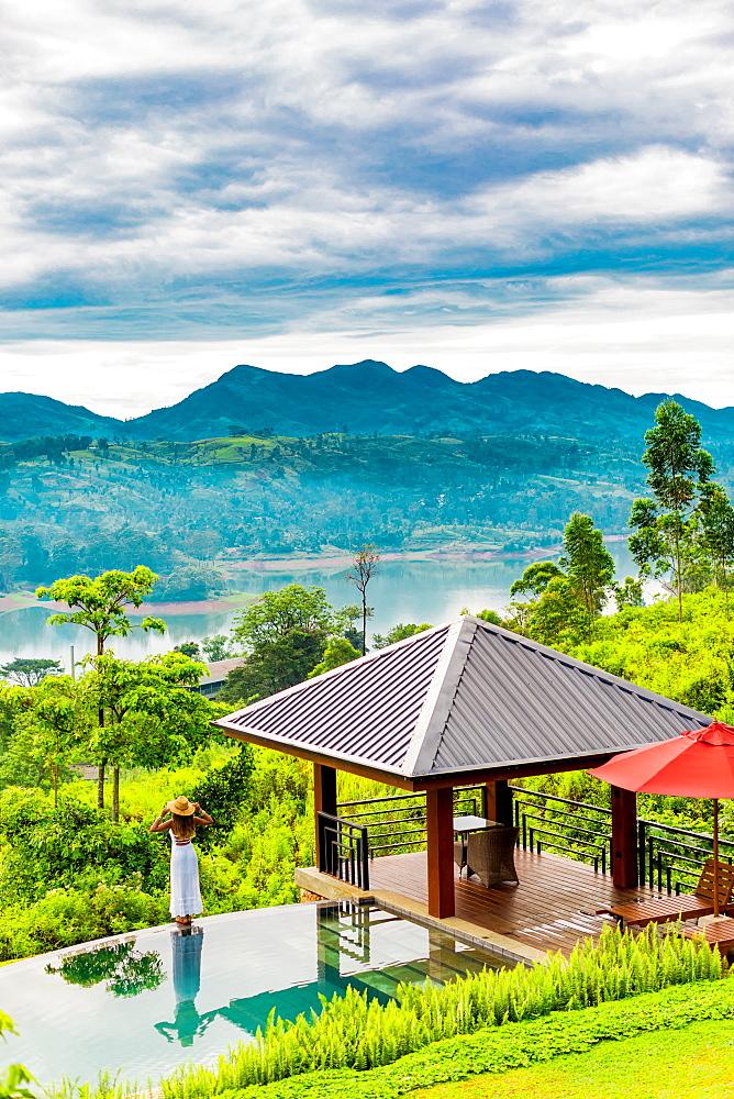 Scenic of the tea country in Sri Lanka, Asia - 1218-651