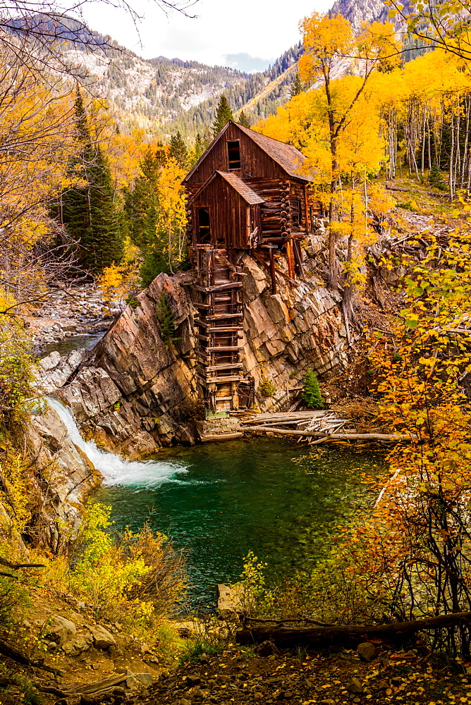 The Crystal Mill, Marble, Colorado, United States of America, North America