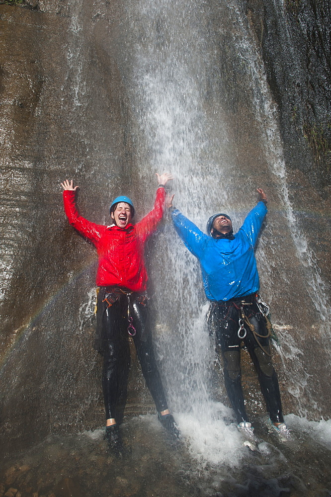 Waterfall The Last Resort in Nepal