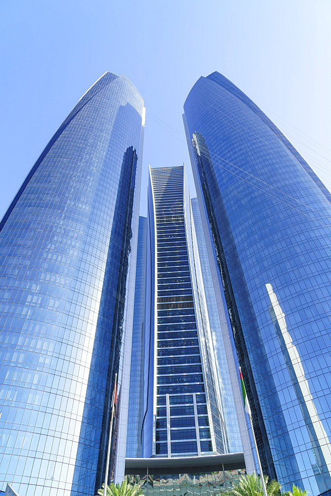 Etihad Towers, Abu Dhabi, United Arab Emirates, Middle East