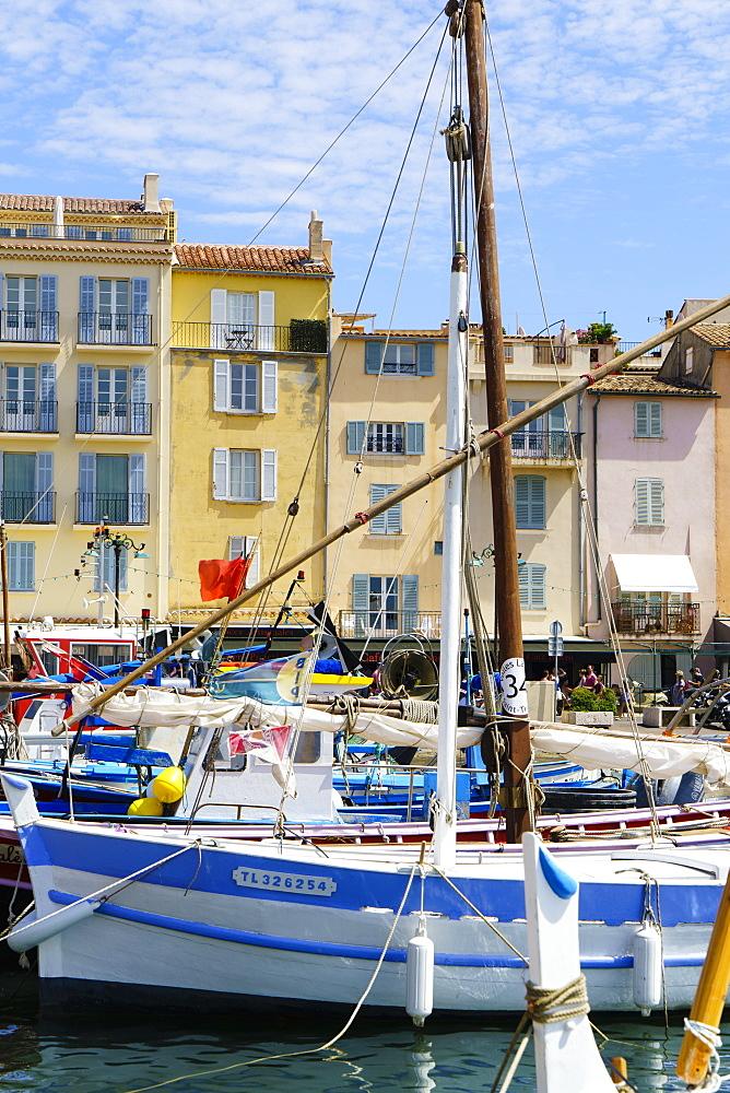 Saint Tropez, Var, Cote d'Azur, Provence, French Riviera, France, Mediterranean, Europe
