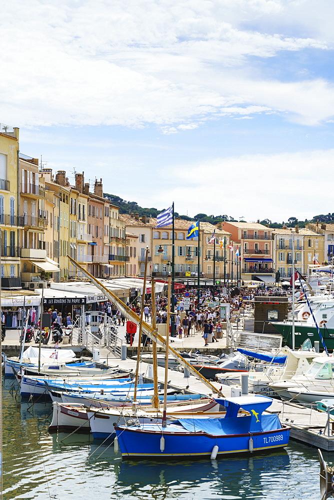 Quai Jean Jaures, Saint-Tropez, Cote d'Azur, France