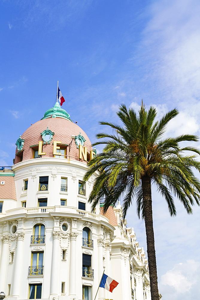 Negresco Hotel, Nice, Cote d'Azur, France