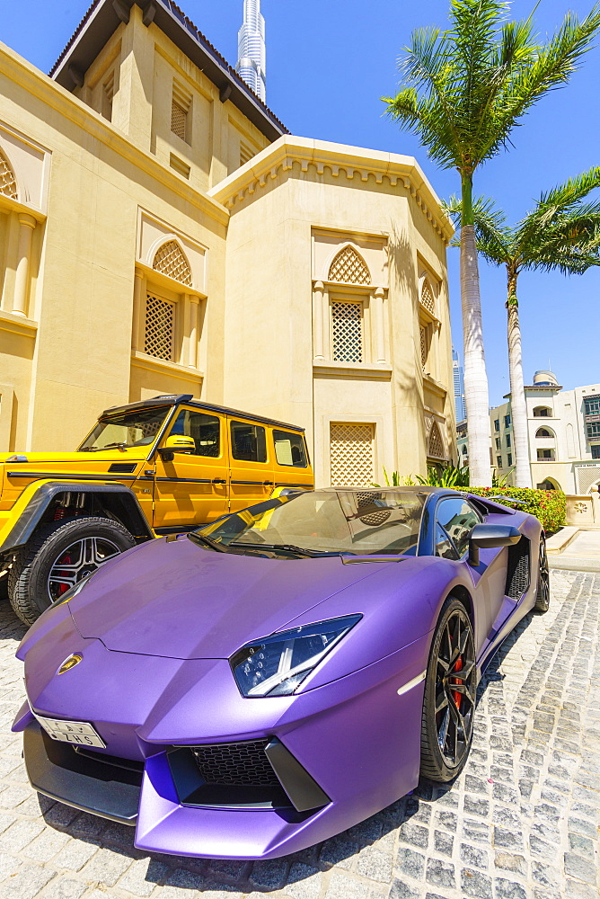 Exotic cars, Dubai, United Arab Emirates, Middle East
