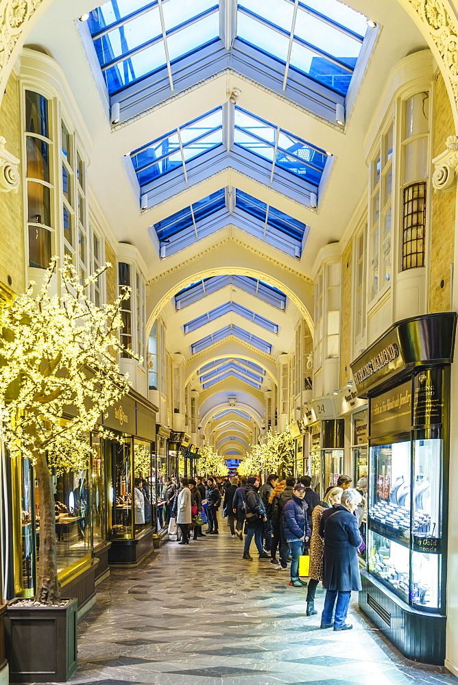 Burlington Arcade, Piccadilly, London, England, United Kingdom, Europe - 1226-741