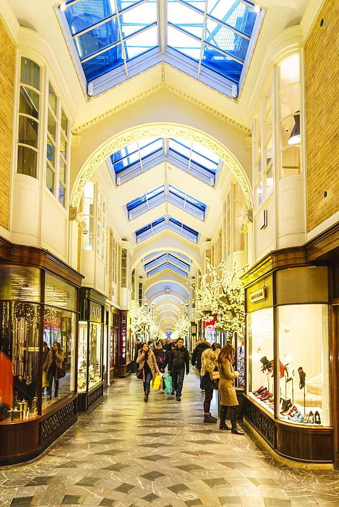 Burlington Arcade, Piccadilly, London, England, United Kingdom, Europe - 1226-743