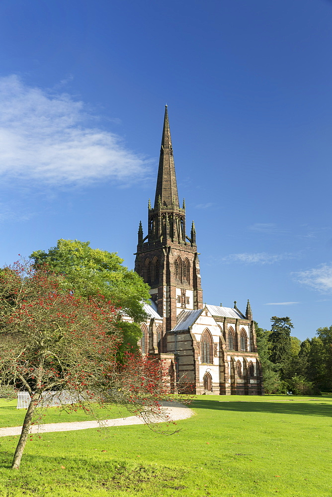 Church of St. Mary The Virgin at Clumber Park, Nottinghamshire, England, United Kingdom, Europe - 1228-38