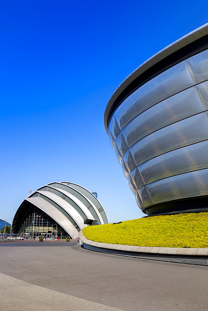 The Armadillo and the SSE Hydro, Glasgow, Scotland, United Kingdom, Europe