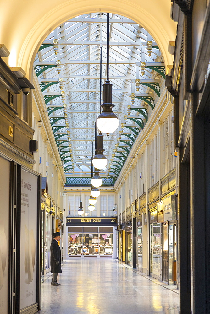 The Argyll Arcade, Glasgow, Scotland, United Kingdom, Europe - 1237-205