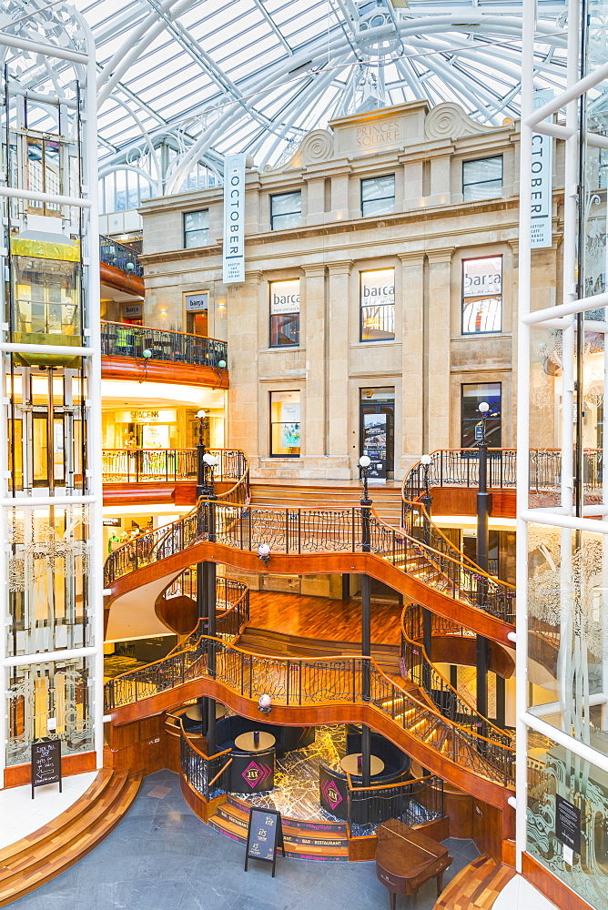 Princes Square Shopping Centre, Glasgow, Scotland, United Kingdom, Europe