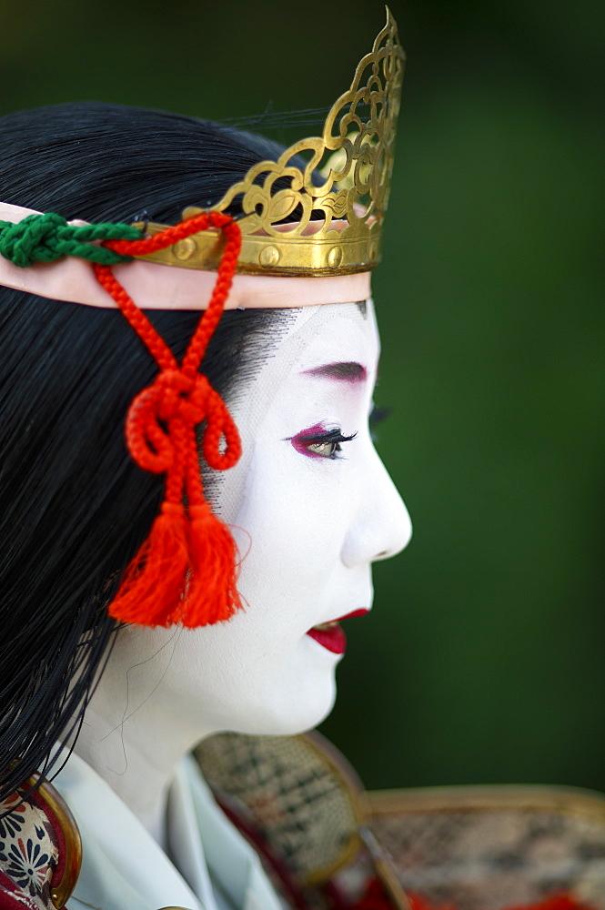 Female Samurai Tomoe Gozen, Jidai festival, Kyoto, Japan, Asia - 1238-145