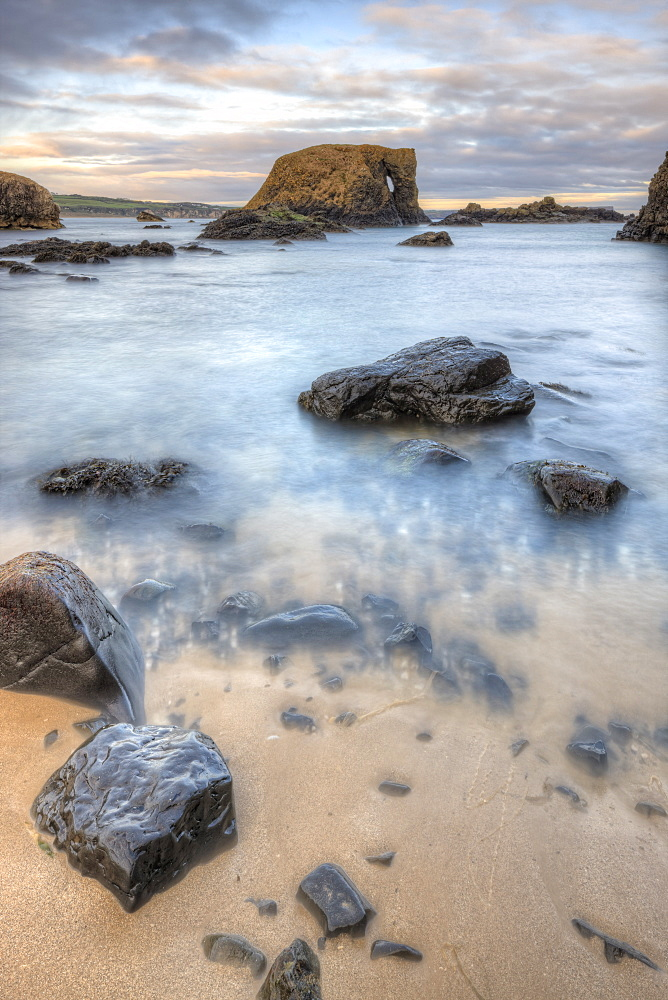 Elephant Rock, Ballintoy, County Antrim, Ulster, Northern Ireland, United Kingdom, Europe