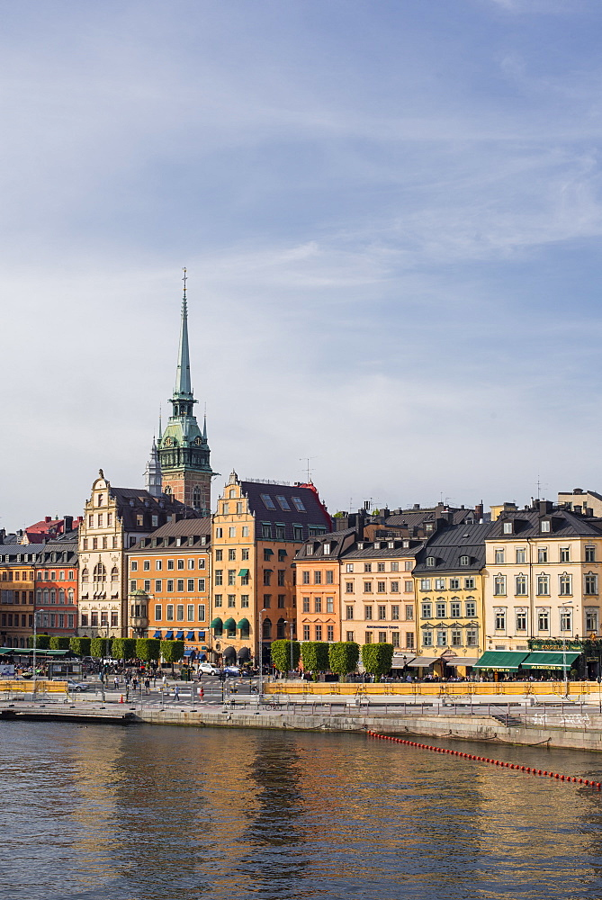 Historic architecture in Gamla Stan, Stockholm, Sweden, Scandinavia, Europe