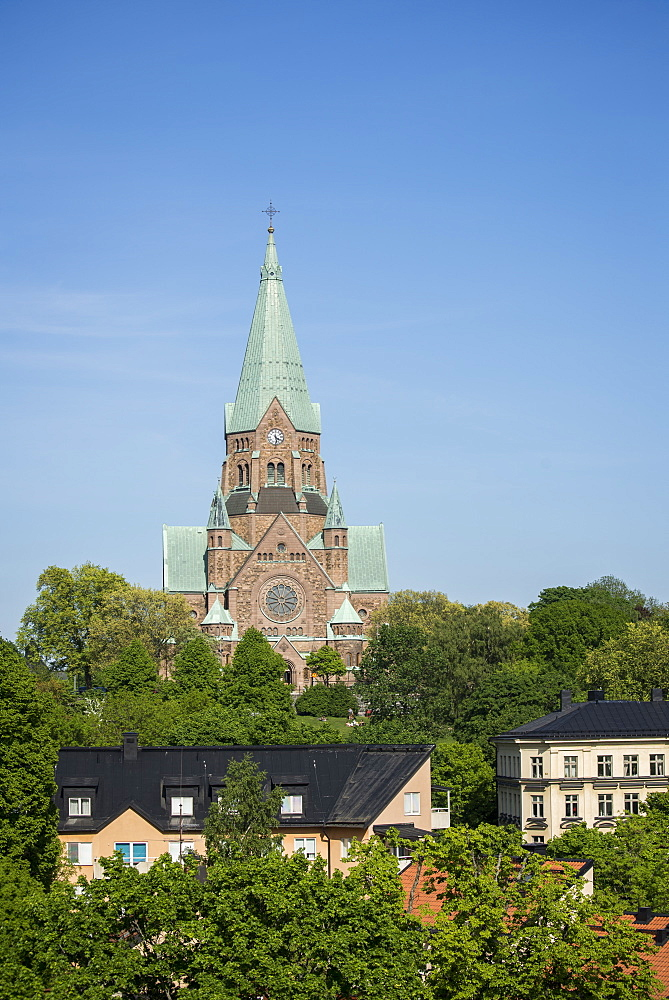 Sofia Church in Nytorget, Stockholm, Sweden, Scandinavia, Europe - 1241-15