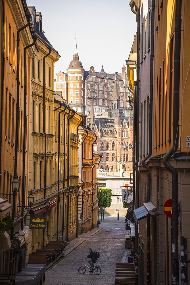 Mariaberget and Gamla Stan, Stockholm, Sweden, Scandinavia, Europe