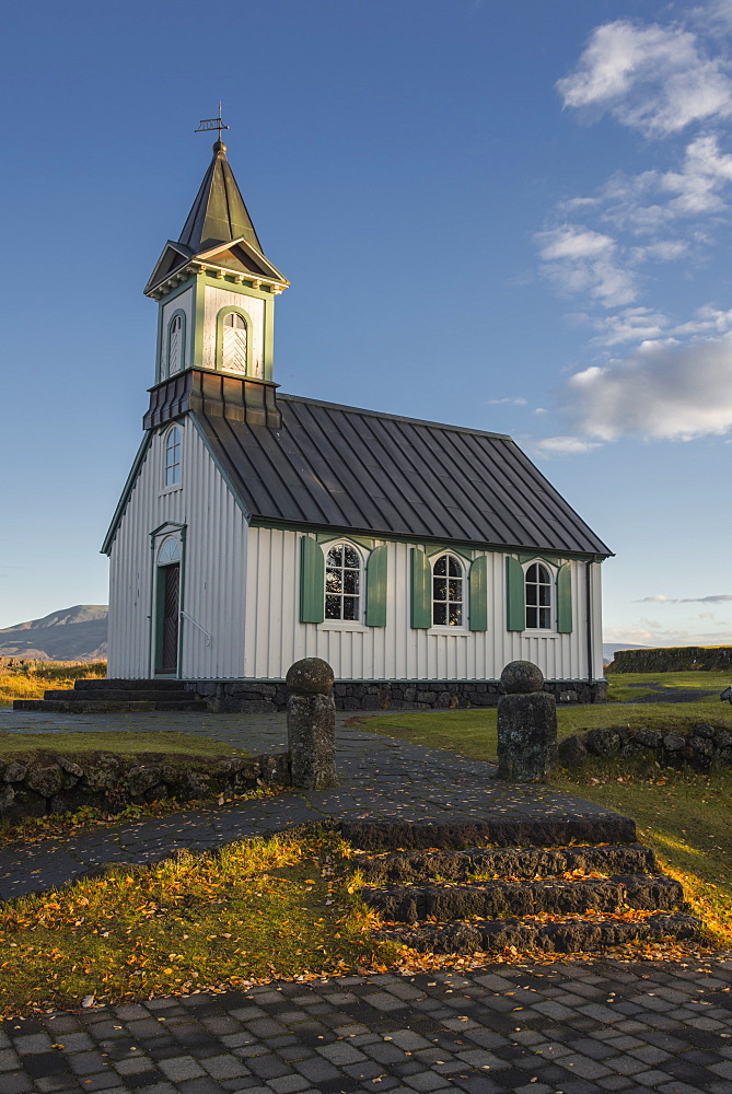 Church in Thingvellir, Iceland, Polar Regions - 1241-38