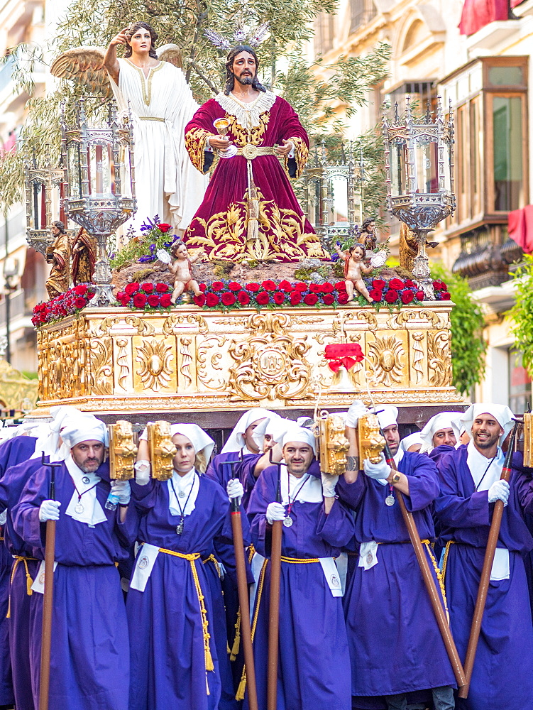 Antequera, known for traditional Semana Santa (Holy Week) processions leading up to Easter, Antequera, Andalucia, Spain, Europe - 1242-151