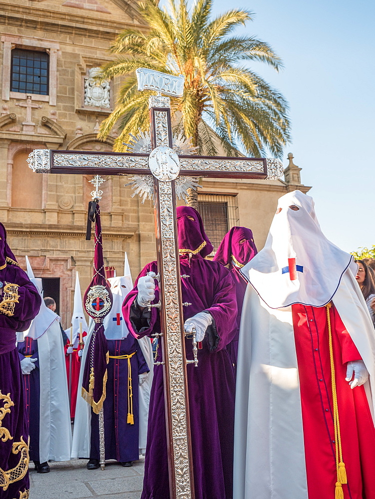 Antequera, known for traditional Semana Santa (Holy Week) processions leading up to Easter, Antequera, Andalucia, Spain, Europe - 1242-152