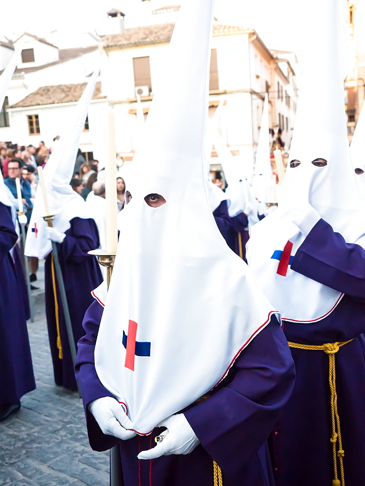 Antequera, known for traditional Semana Santa (Holy Week) processions leading up to Easter, Antequera, Andalucia, Spain, Europe - 1242-156