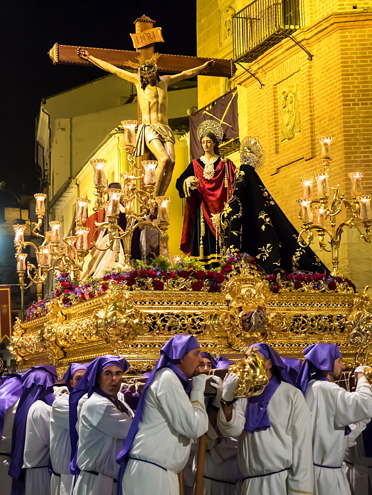Antequera, known for traditional Semana Santa (Holy Week) processions leading up to Easter, Antequera, Andalucia, Spain, Europe - 1242-160