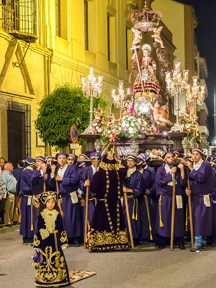 Antequera, known for traditional Semana Santa (Holy Week) processions leading up to Easter, Antequera, Andalucia, Spain, Europe - 1242-164