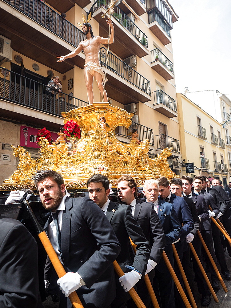 Antequera, known for traditional Semana Santa (Holy Week) processions leading up to Easter, Antequera, Andalucia, Spain, Europe - 1242-167