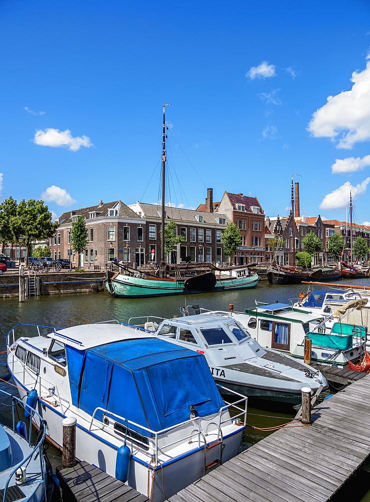 Aelbrechtskolk in Delfshaven, Rotterdam, South Holland, The Netherlands, Europe