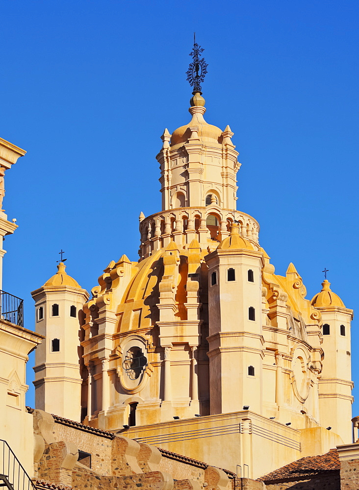 Detailed view of the Cathedral of Cordoba, Cordoba, Argentina, South America