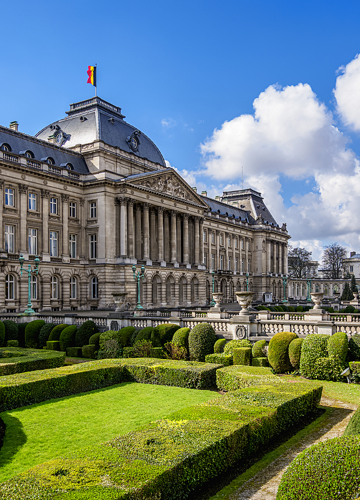 Royal Palace of Brussels, Belgium, Europe