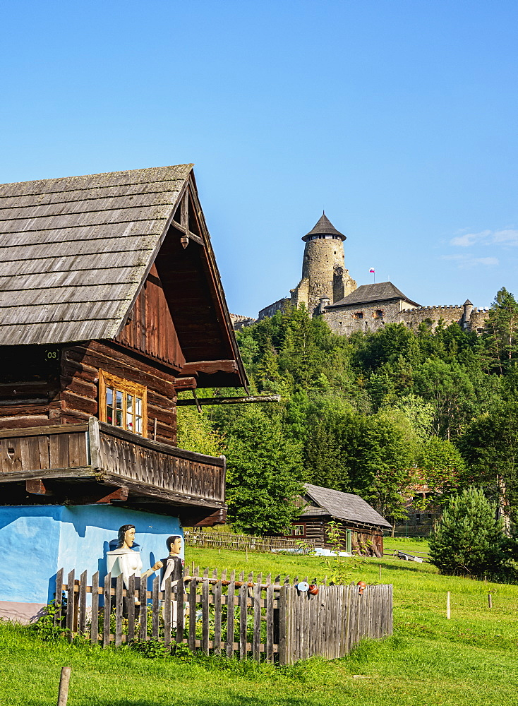 Open Air Museum at Stara Lubovna, Presov Region, Slovakia, Europe