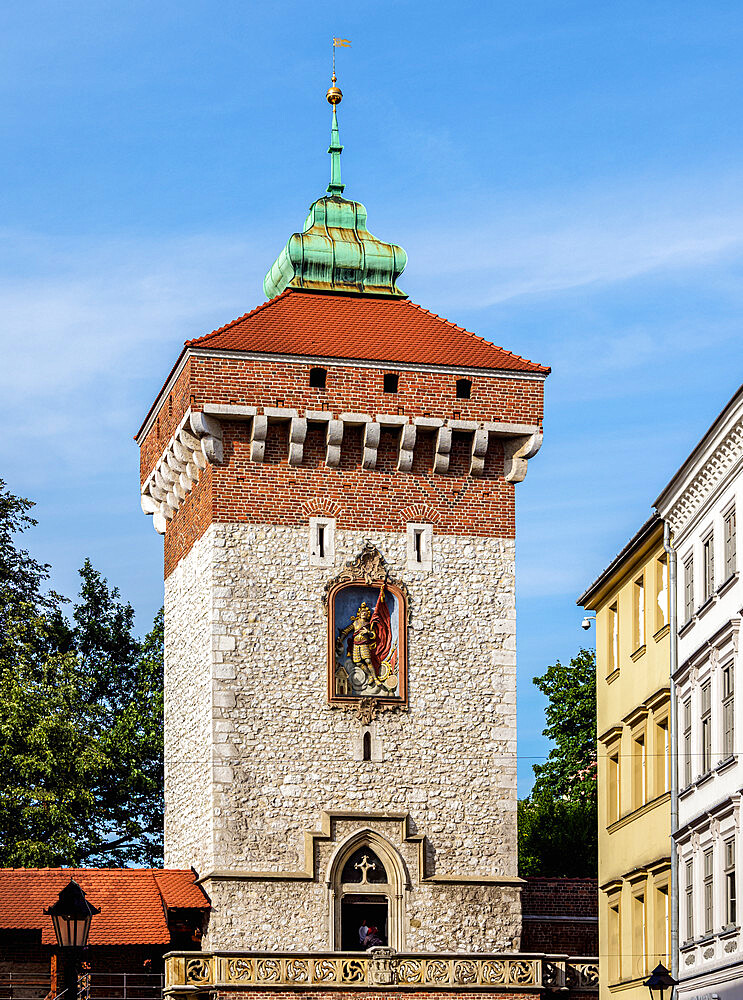 Florian Gate, Cracow, Lesser Poland Voivodeship, Poland