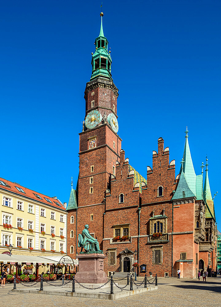 Old Town Hall, Market Square, Wroclaw, Lower Silesian Voivodeship, Poland - 1245-1761