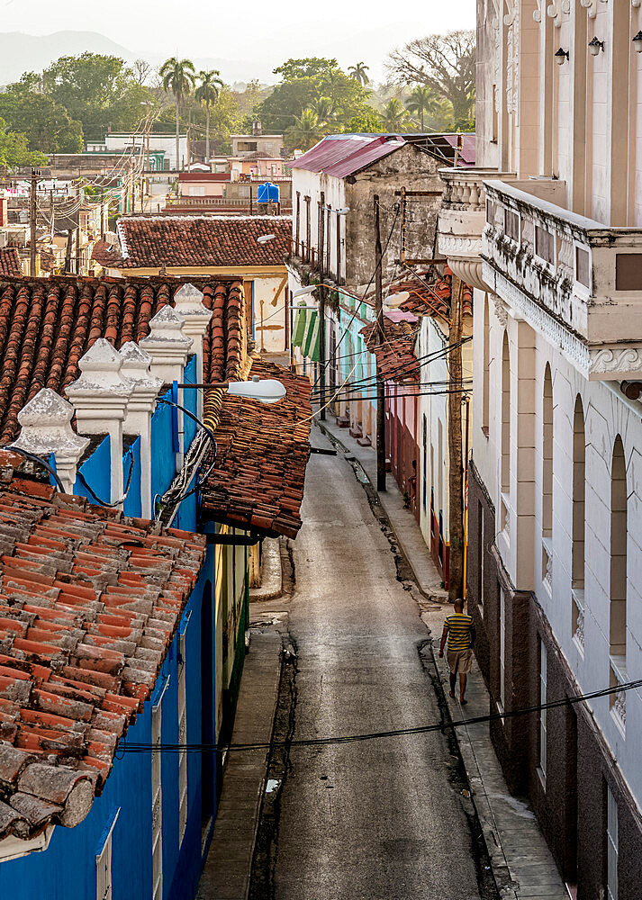 Street of Sancti Spiritus, Sancti Spiritus Province, Cuba, West Indies, Caribbean, Central America - 1245-1885