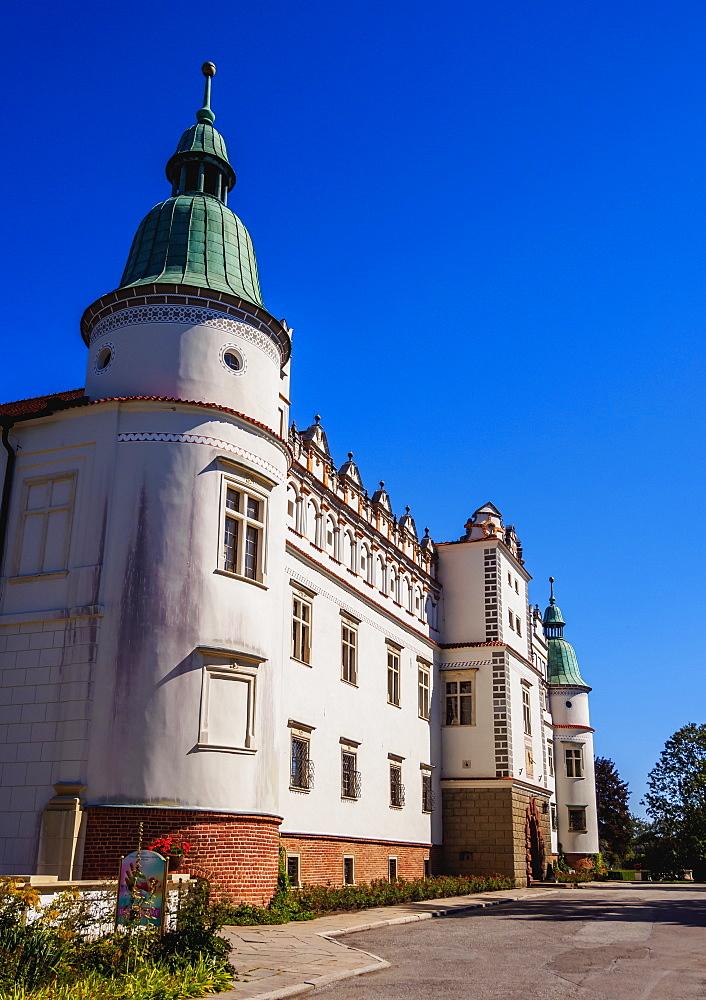 Poland, Subcarpathian Voivodeship, Baranow Sandomierski Castle