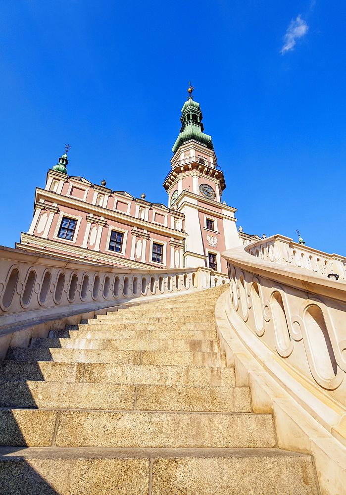 Poland, Lublin Voivodeship, Zamosc, Old Town, City Hall