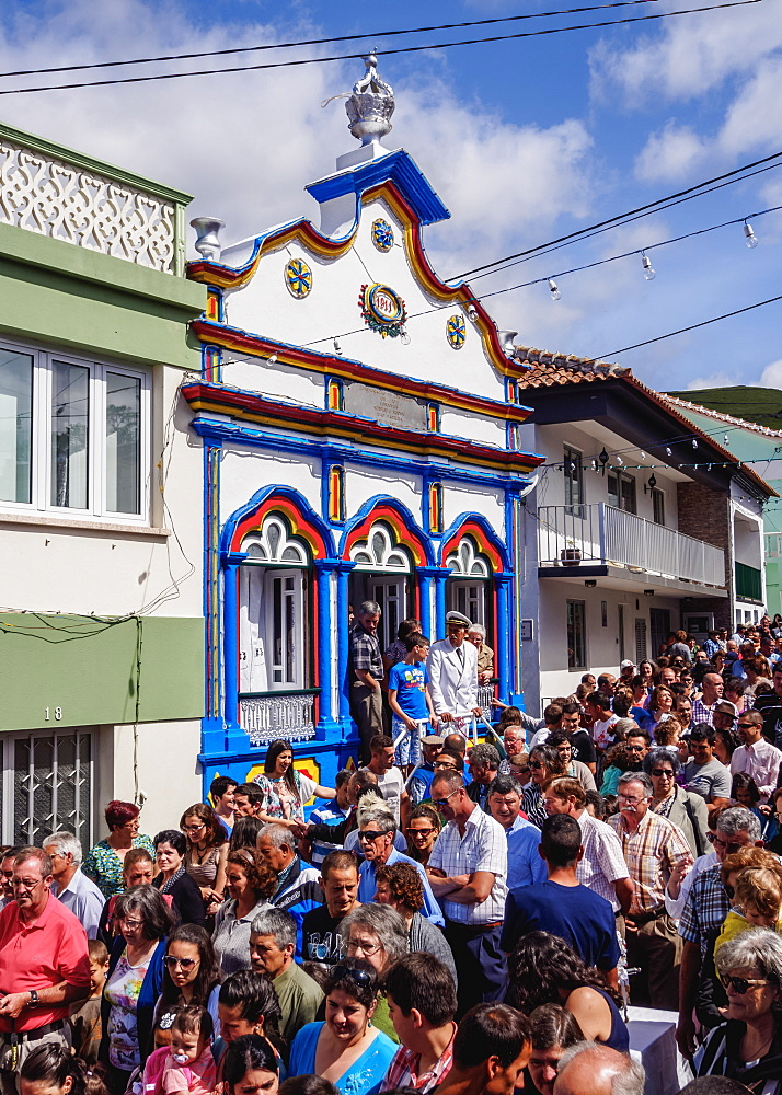 Festas do Espirito Santo, Holy Spirit Festivities, Riberinha, Terceira Island, Azores, Portugal, Atlantic, Europe