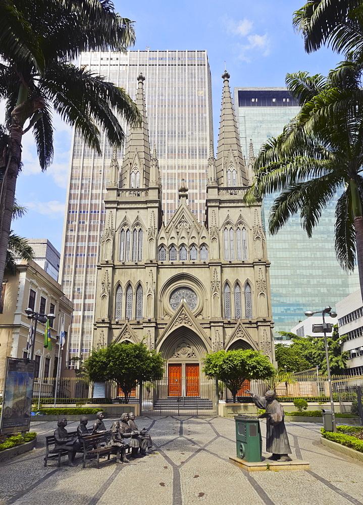 View of the Presbyterian Cathedral of Rio de Janeiro, Rio de Janeiro, Brazil, South America
