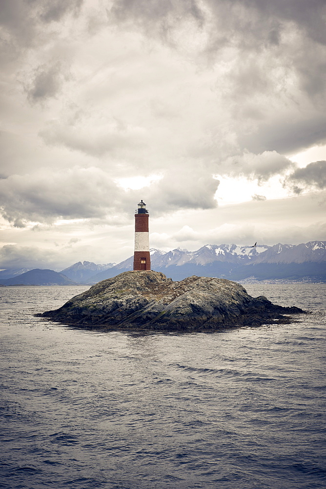 Les Eclaireurs lighthouse, Tierra del Fuego, Argentina, South America