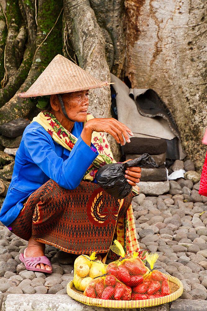 Indonesian woman of Yogyakarta, Indonesia - 1262-157