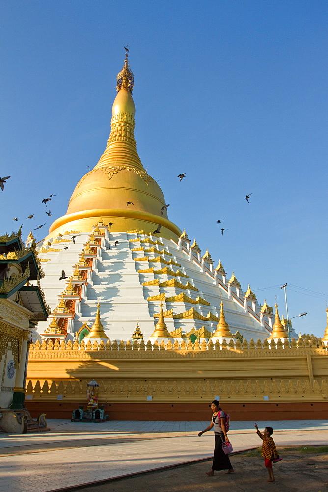 Buddhist stupa, Bagan (Pagan), Myanmar (Burma), Asia