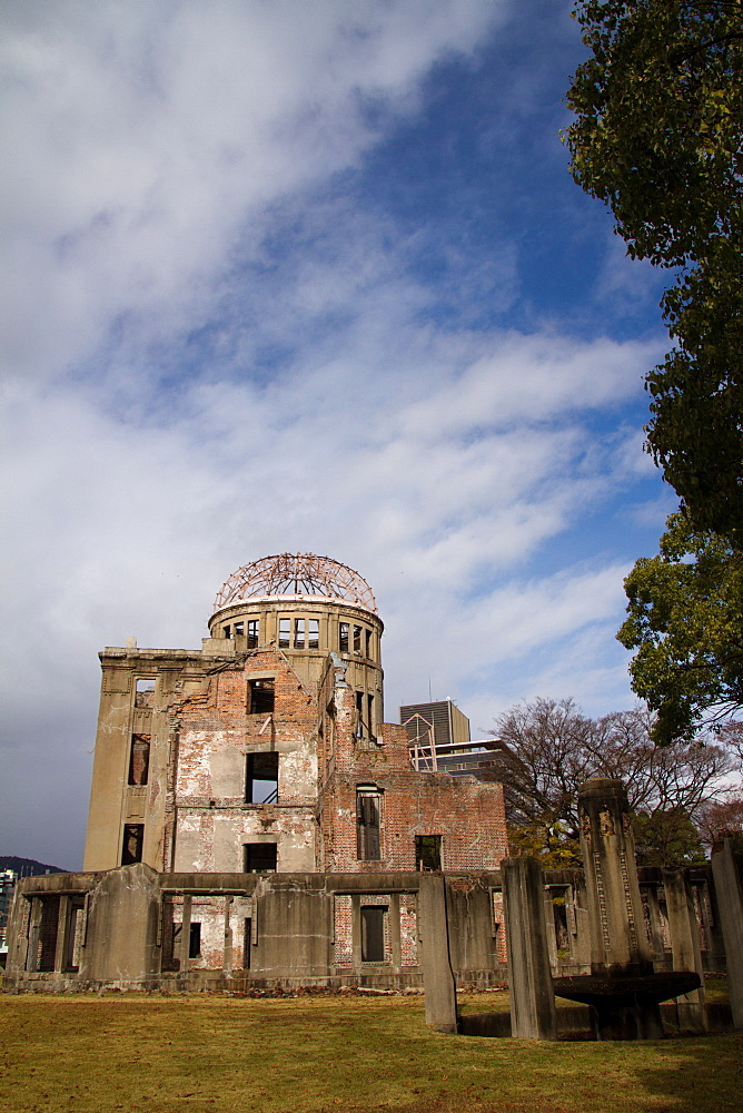 The A-Bomb Dome Memorial, UNESCO World Heritage Site, Hiroshima, Japan, Asia