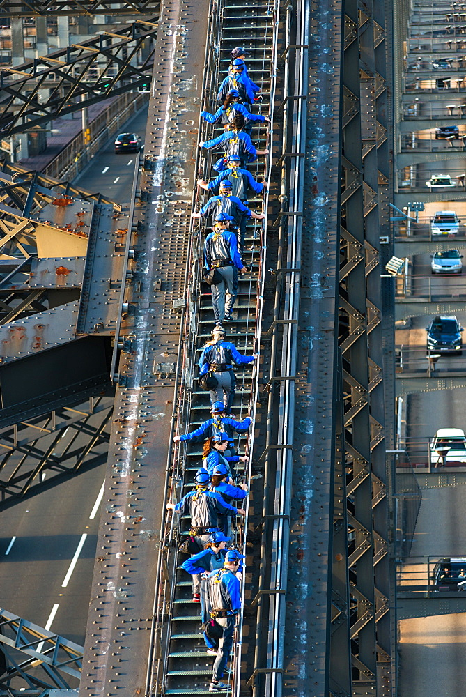 Sydney Bridge climb, Sydney, New South Wales, Australia, Pacific