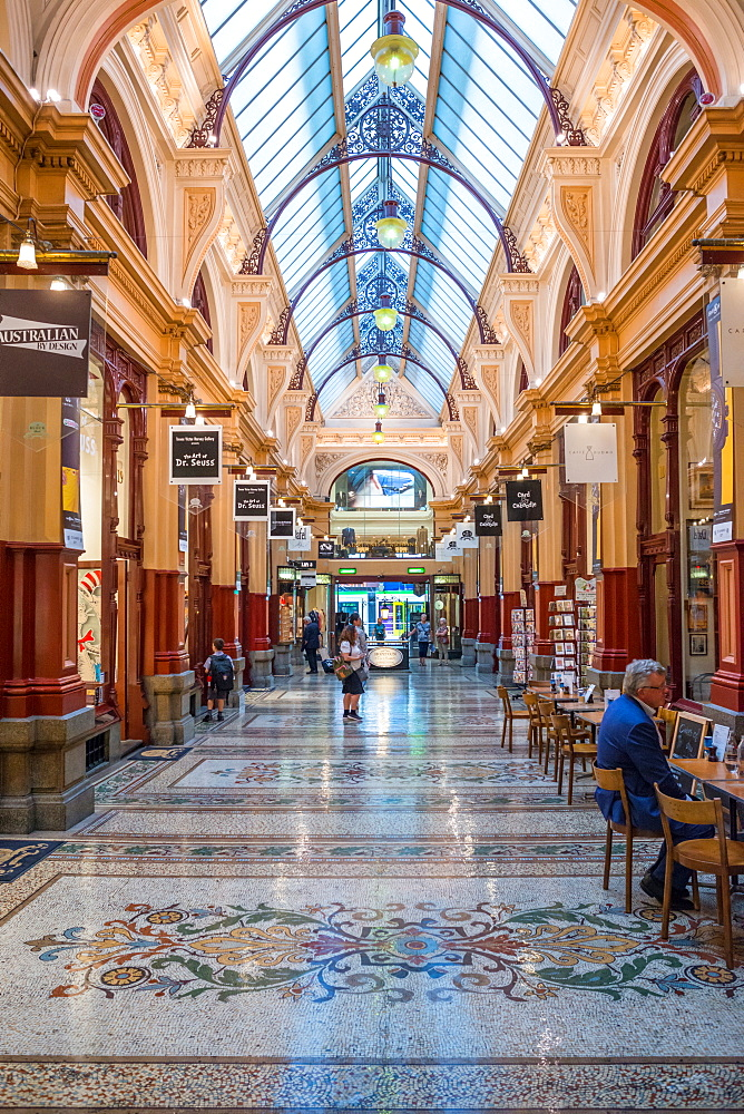 The Block Arcade, corner Collins Street and Elizabeth, Melbourne, Victoria, Australia, Pacific