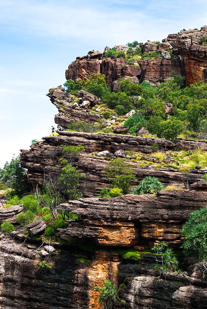 Burrunggui (Nourlangie Rock), Kakadu National Park, UNESCO World Heritage Site, Northern Territory, Australia, Pacific - 1267-68
