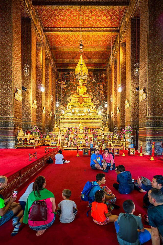 Wat Phra Chetuphon (Wat Pho) temple, Bangkok, Thailand, Southeast Asia, Asia