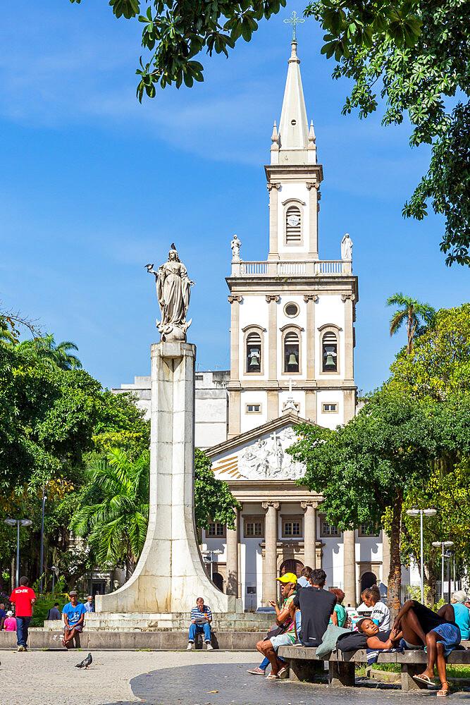 Church of Our Lady of Glory at Largo do Machado square in the Flamengo neighborhood, Rio de Janeiro, Brazil