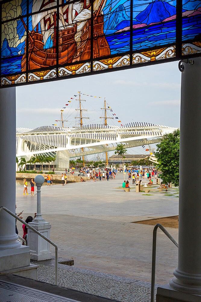 The Museum of Tomorrow at Maua Square, Rio de Janeiro, Brazil